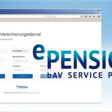 ePension und EDEKA-Versicherungsdienste